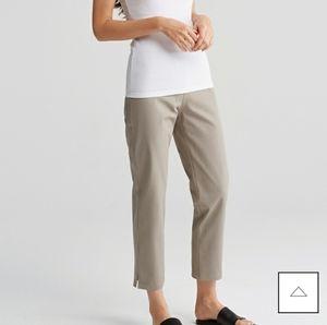 NEW! Eileen Fisher Organic Cotton Twill Pants